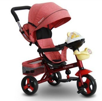 Children tricycles trolleys Bicycles baby bikes Baby stroller carriages with music