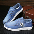 Sky Blue Breathable Men Canvas Shoes Fashion Mens Casual Shoes  High Quality Flat Lace-up Shoes for Men Zapatos Hombre