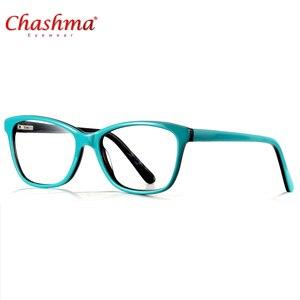 Image 1 - Высококачественная оправа для очков из ацетата, дизайнерская брендовая прозрачная оправа для очков при близорукости, оправа для очков в народном стиле