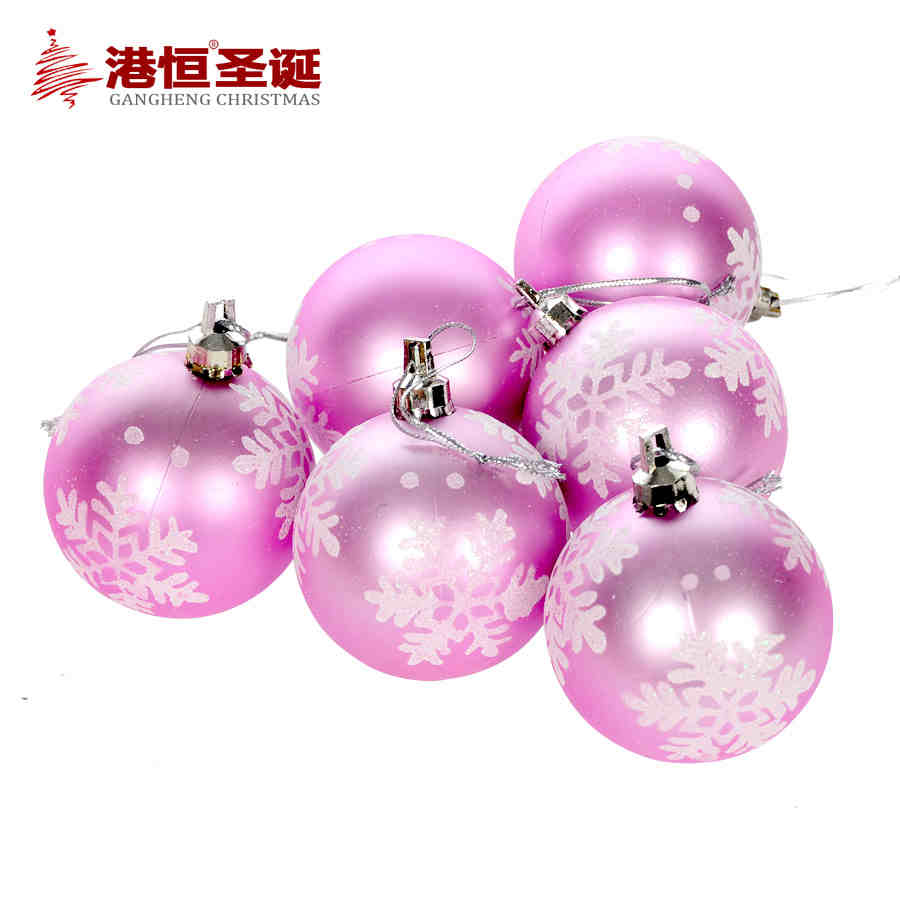 Online get cheap pink ball ornaments for Cheap christmas ornaments