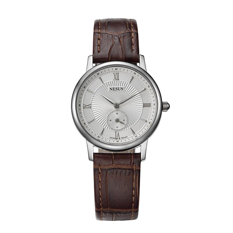 Nesun Switzerland Luxury Brand Watch Women Japan MIYOTA Quartz Movement Women's Watches Genuine Leather Couple's Clock N8501-LW1