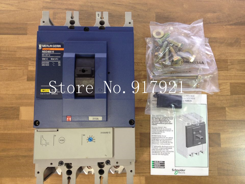 [ZOB] The original  NSD400K instead of EZP400M 3P315A circuit breaker[ZOB] The original  NSD400K instead of EZP400M 3P315A circuit breaker