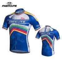 Fastcute Bisiklet Giysileri Kısa Kollu Bisiklet Jersey 2017 Pro Team Bisiklet Giyim Ropa Ciclismo Bisiklet Gömlek Modeller Seçim