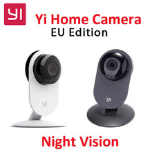 Édition internationale!! Xiaomi YI Caméra Intelligente, Xiaoyi fourmis Intelligent Webcam IP caméra wifi sans fil camaras cctv cam Vision Nocturne