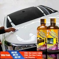 Car Glass Coating Liquid Glass New Nanotech Car Care Wax Paint Care From Scratches Window Rain