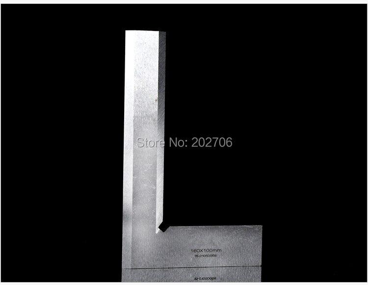 80*50 мм, 125*80 мм, 160*100 мм, 200*125 мм, лопастная линейка с углом 90 градусов, квадратная линейка с широким лезвием, угловая линейка, измерительный инструмент
