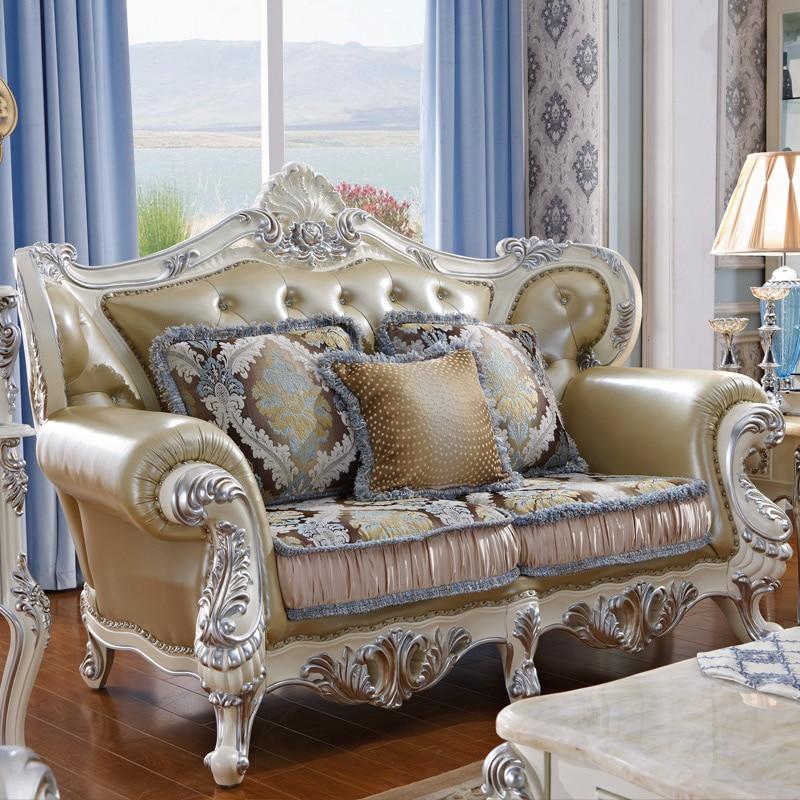 1 2 3 Modern Design Sectional Soft Genuine Leather Sofa