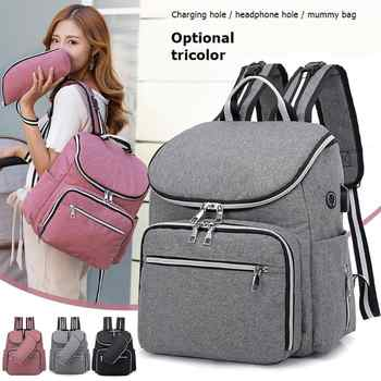 Fashion Mummy Maternity Nappy Bag Brand Large Capacity Baby Bag Travel Backpack Designer Nursing Bag for Baby Care - DISCOUNT ITEM  35% OFF All Category