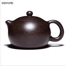 WSHYUFEI Yixing Bule 225 ml/350 ml artesanal jogo de chá com um bule de Kung Fu dom chá belas bens entrega gratuita