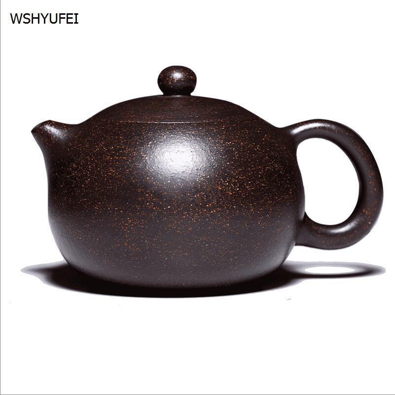 WSHYUFEI Yixing Teapot 225ml / 350ml handmade tea set with a pot of pot Kung Fu tea gift beautiful goods free delivery