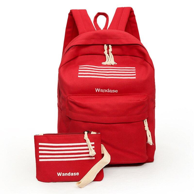 women pink backpack leather girls Shoulder Bags For Female Travel Backpacks