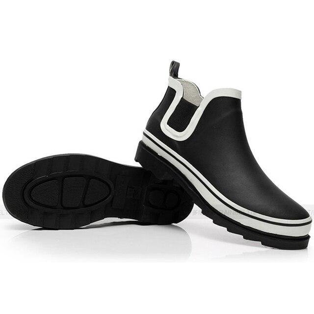 Бесплатная Доставка 2016 Новых Моды для Мужчин Мужской Обуви Дождь Обувь Зимние Непромокаемую Обувь Мужчины Дождь Сапоги Зимние Ботильоны R8