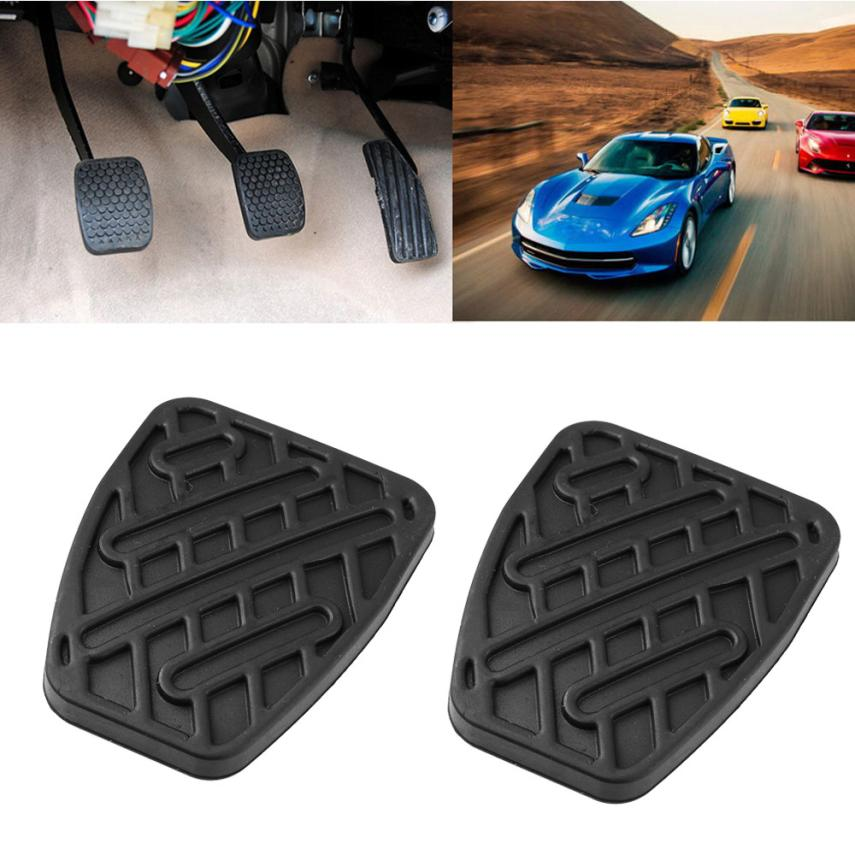 Pedals, Footrests & Plates CLUTCH PEDAL PAD RUBBERS GENUINE PAIR ...