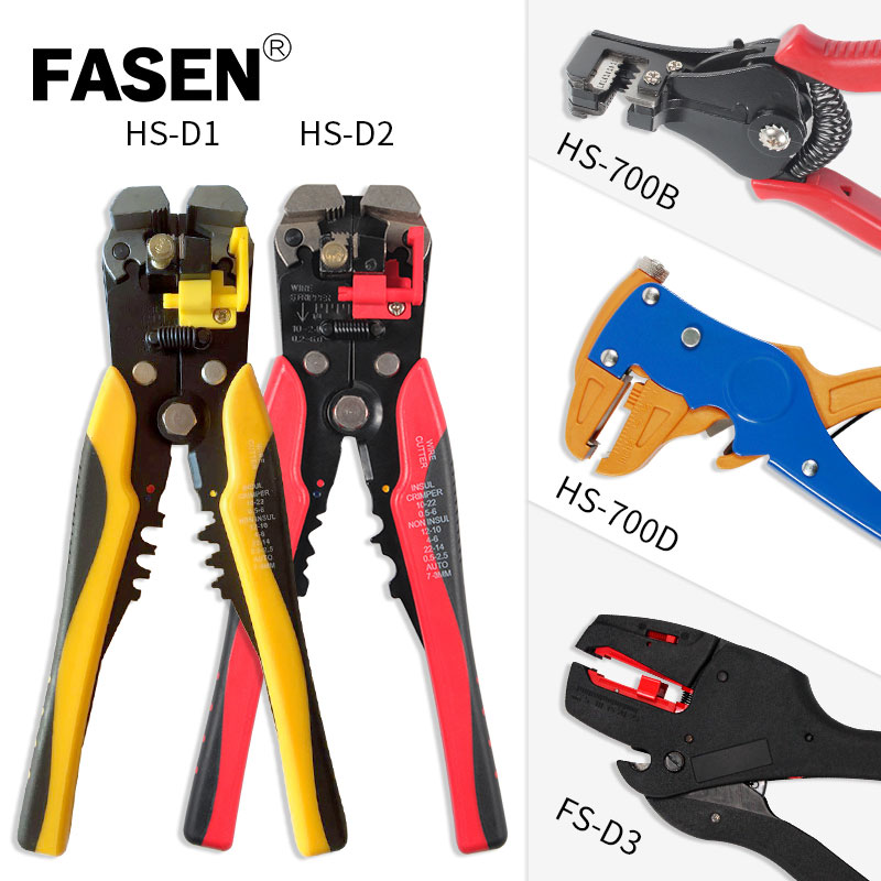 FS-D3 HS-D1 HS-D2 HS-700B HS-700D Self-Adjusting insulation Wire Stripper automatic wire strippers stripping