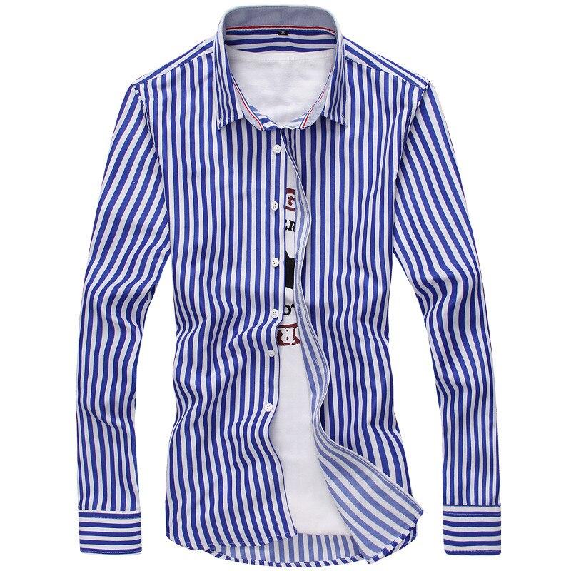 Men dress shirts 2017 new wrinkle resistant slim fit for Wrinkle resistant dress shirts