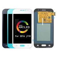 Super AMOLED J110 LCD Display for Samsung Galaxy J1 ACE J110 J110F J110H LCD Display Display Touch Screen Digitizer Assembly for
