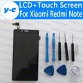 Para xiaomi redmi note lcd de alta qualidade red rice note 4g display + touch screen para hongmi note prime 4g fdd wcdma telefone em estoque