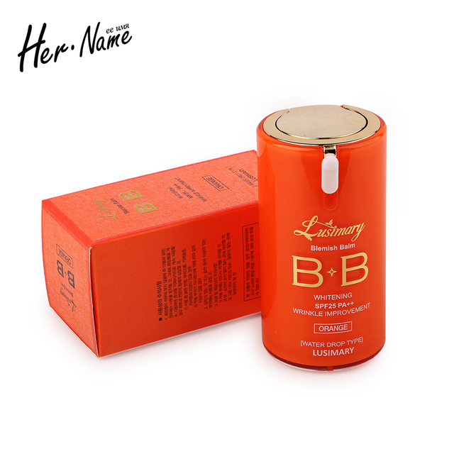 New arrival bb cream makeup concealer cosmetic base correction original oil control foundation creme naked whitening repair skin