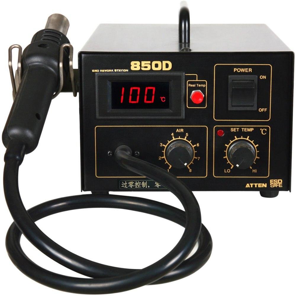 все цены на FEITA 850D High Quality Aliexpress Wholesale Advanced Digital Soldering Station ESD Hot Air Soldering Station Hot Air Gun онлайн