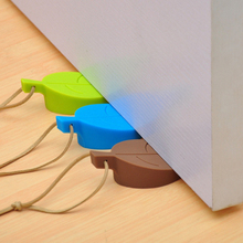 Silicone Rubber Door Stopper Cute Autumn Leaf Style Home Decor Finger Safety Protection Wedge Kid Baby Safe Doorways Gates 11.11