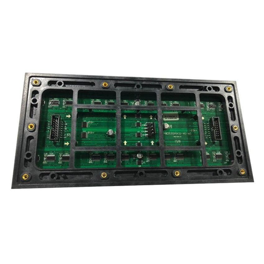 Waterproof IP67 HD P8 Module 256*128mm Outdoor LED Display Screen Panel SMD3535  32*16Pixels 1/4S