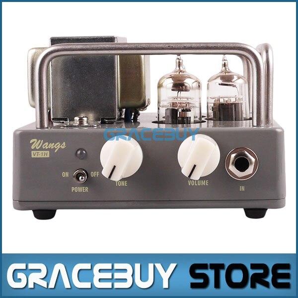 Electric Guitar All Tube Amplifier Head Biyang Wangs Black AMP Tube Head Adjust Volume And Tone New