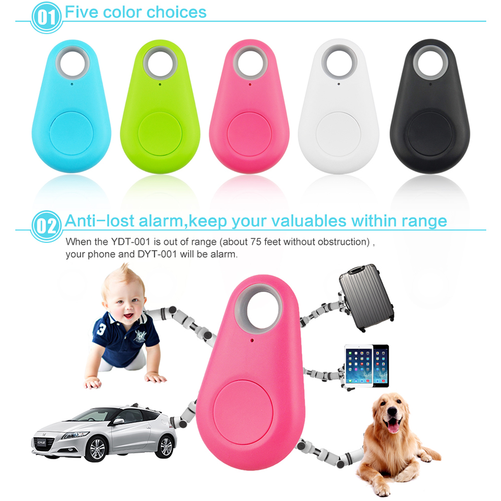 Waterproof GPS Tracker Dog Accessories 5 Color Bluetooth4.0 Effective range 75 feet Anti-lost Pet Tracker Standby 6 months D20 2