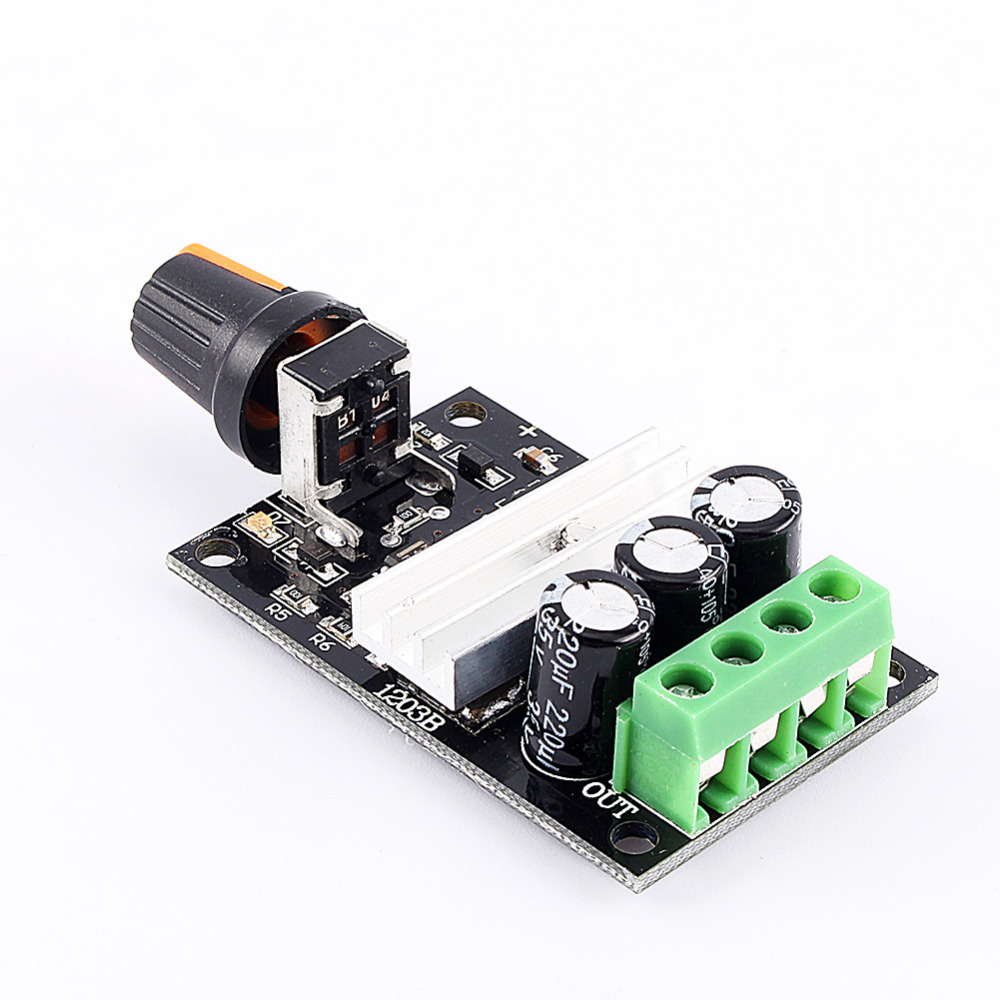 Pwm dc 6v 12v 24v 28v 3a new motor speed control switch for Speed control electric motor