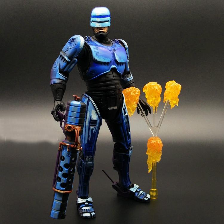 SAINTGI RoboCop Murphy robot 1987 movie gun Anime Game Figurine PVC Action Figure Model Toy 17cm