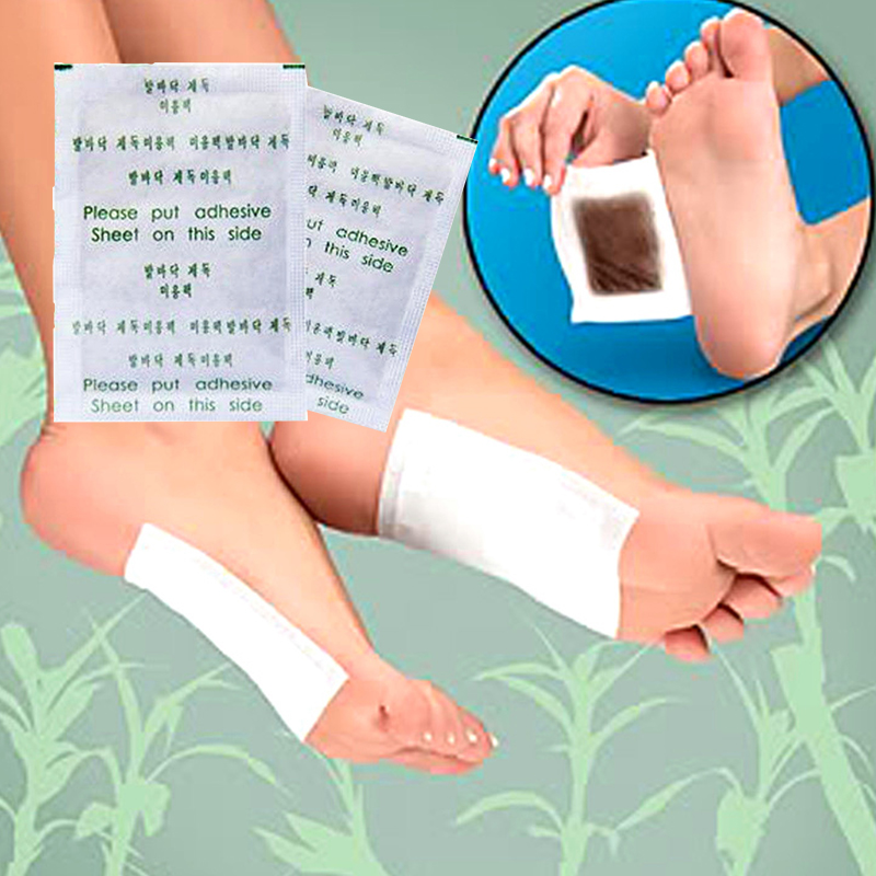 Chinese Plantar Fasciitis Patch 10x Detox Foot Pads Patch Herbal Detoxify Adhesive Health Care цена