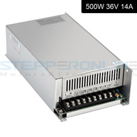 Stepper motor Switching Power Supply 36V output CNC Power Supply 500W 14A 115V/230V AC Input for CNC Router Kits