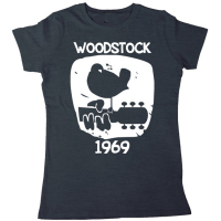 Woodstock 1969 Vintage T Shirt Men Women Music Short Sleeve Printed Cotton Tee US Plus Size