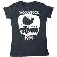 Woodstock 1969 Vintage T shirt men & women Music short sleeve printed cotton tee US plus size XS-3XL