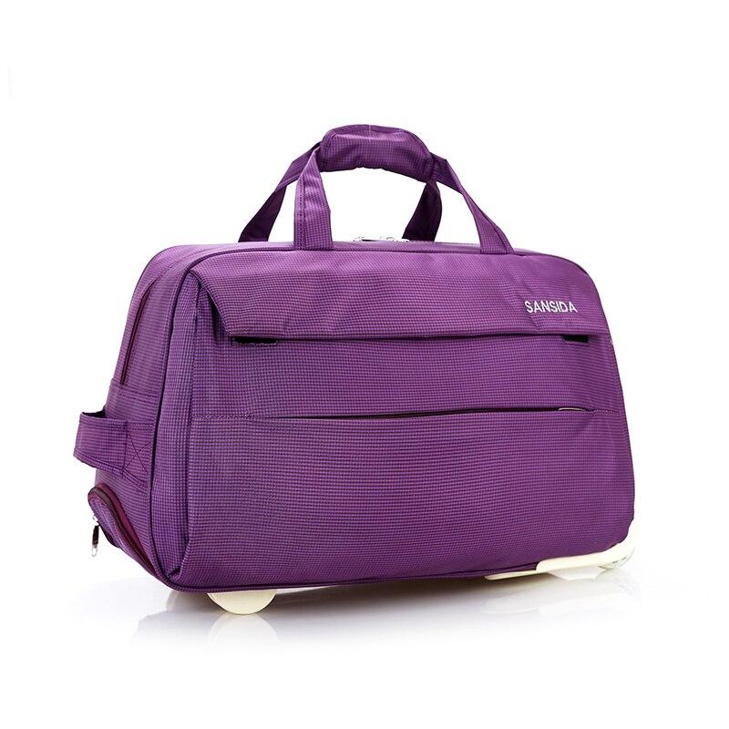 bolsaagem rolando sacolas de viagem Material Principal : Lona