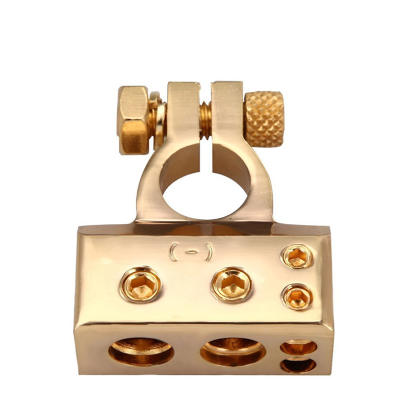 Image 3 - LUNDA Gold plated Car Battery Terminal Positive /negative  Car battery Connector Battery Caps Terminal Connector-in Car Batteries from Automobiles & Motorcycles