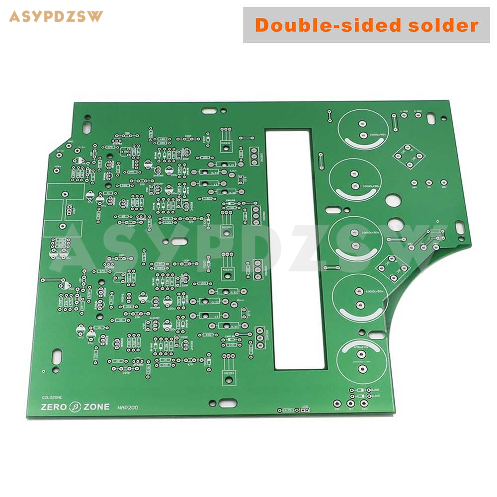 Double sided solder DIY NAP200 Power amplifier PCB base on UK NAIM amplifier