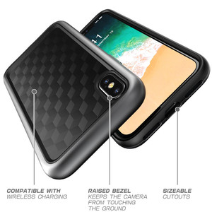 Image 4 - SUPCASE For iphone X XS Case UB Style Premium Hybrid Protective TPU Bumper + PC Clear Back Cover Case For iphone X Xs 5.8 inch