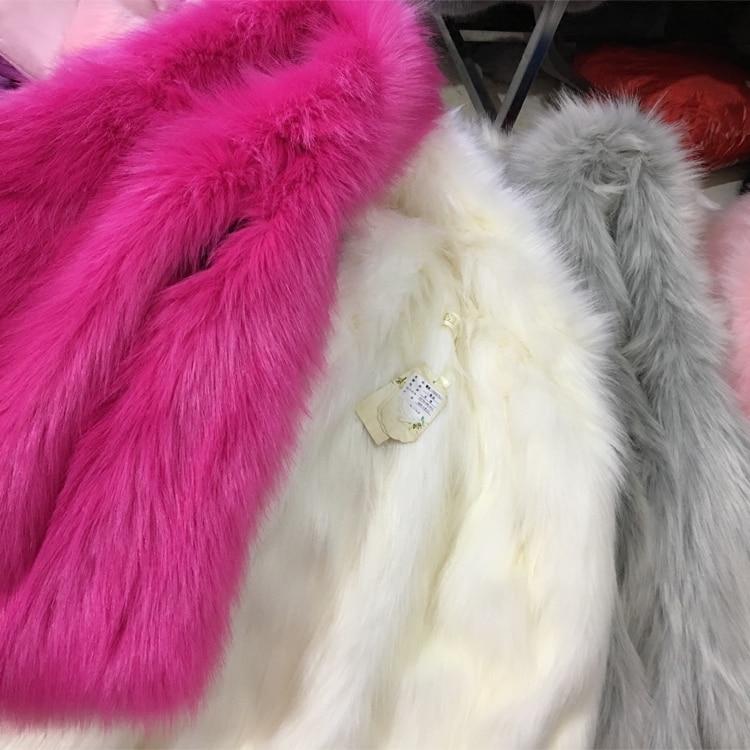 036ae580cd39 Baby Girls Boy Winter Coat Faux Fox Fur Liner Detachable Jackets ...