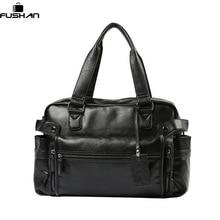 Hohe Qualität Leder herren Reisetaschen Große Kapazität Männer Messenger Bags Reise Duffle Handtaschen herren Umhängetaschen