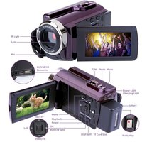 2018 NEW RICH HDV 534K 4K 48MP WiFi Digital Video Camera 3inch Capacitive Touchscreen IR Infrared Night Sight 16X Zoom