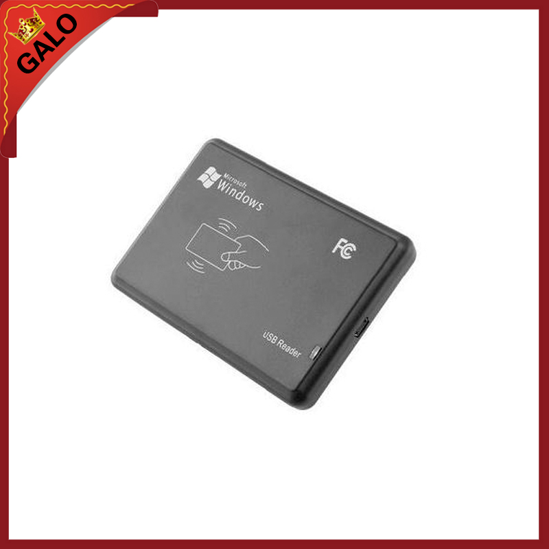 125Khz RFID Reader EM4100 USB Proximity Sensor Smart Card Reader 125khz black usb proximity sensor smart rfid id card reader 5pcs em4100 card 5pcs em4100 keyfob em4100 em4200 em4305 t5577