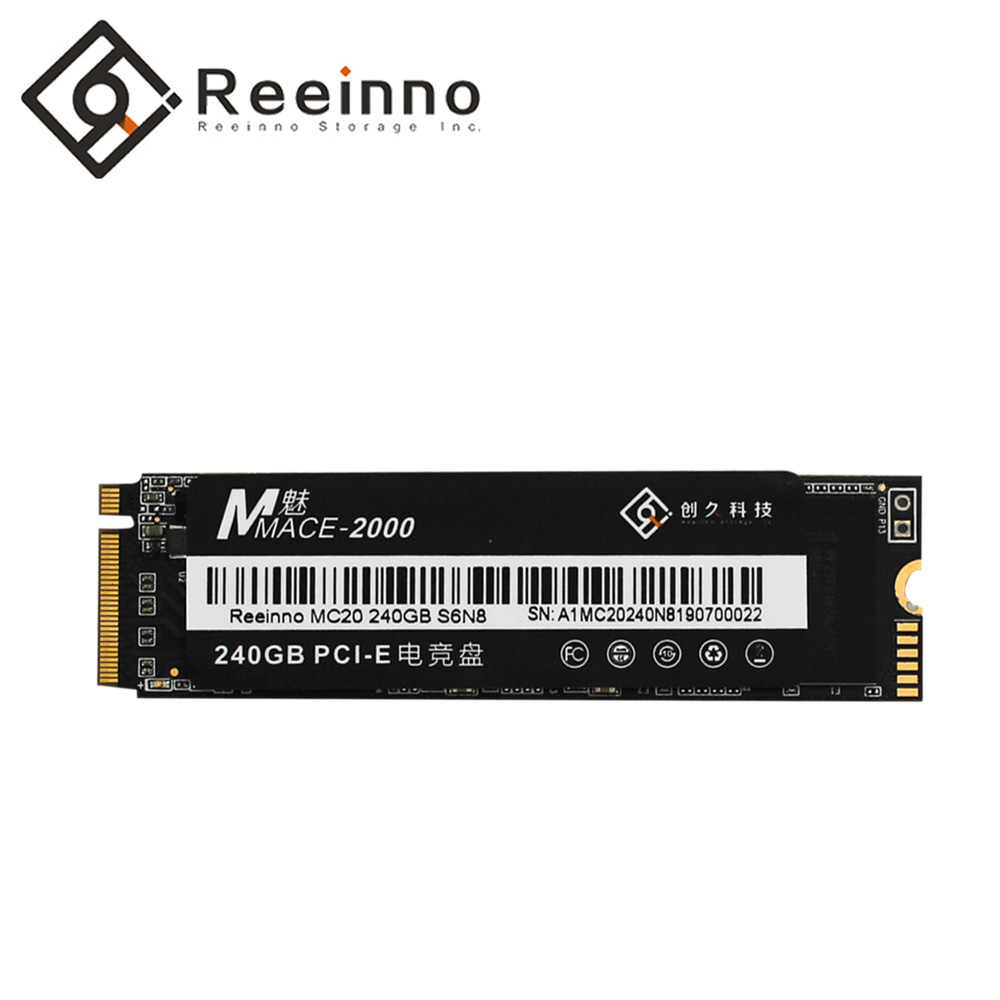 Reeinno Mace2000 SSD M.2 NVMe PCIe 480GB 512GB 960GB 2280 1.8GB/s 3D NAND Flash super speed Solid-State Drive for Desktop Laptop