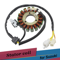 Motorcycle Alternator Generator Stator Coil For Suzuki GN250 1982 2001 TU250 1997 2001