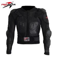 Pro-Biker Motorcross Racing Motorcycle Body Armor Black Motorcycle Riding Body  Protection Jacket