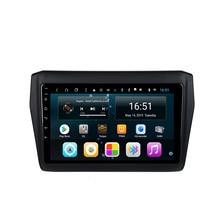 Автомобильный радиоприемник HD 1080P MP3 MP4 разрешение музыки HD разрешение дисплея 1024*600 USB для Suzuki swift- 9 дюймов Android 8,1