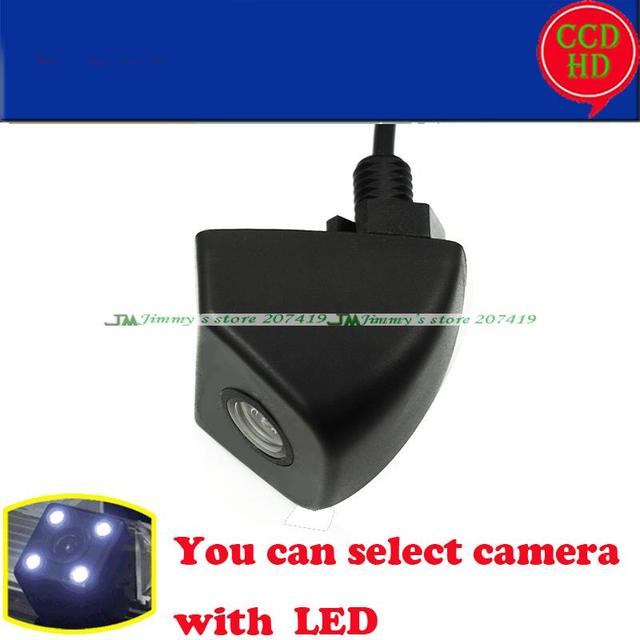 Visão CCD HD noite visão traseira do carro de backup câmera câmera Universal para câmera frontal vista lateral traseira grande angular à prova d' água