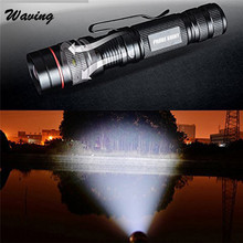 Bicycle Light Cycling Bike Head Front Light 2017 Zoomable 2500LM XM L Q5 LED Flashlight Torch