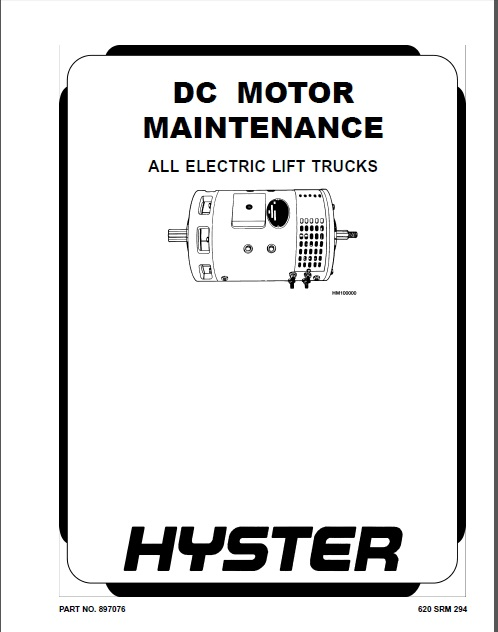 hyster c264 n45zr n35zdr forklift service repair factory manual instant download