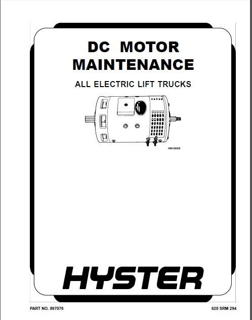 New Hyster Repair Manuals PDF 2019 for FULL SET version-in