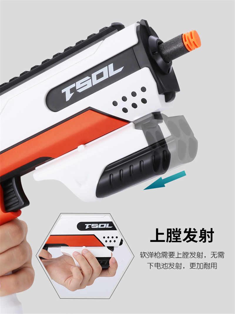 2019 новый ручной мягкий пулевой пистолет костюм для Nerf пули игрушечный пистолет наружная игра Дартс бластер игрушки пистолет для детей